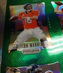 Panini America 2012 Prizm Football Green Sheets (11)