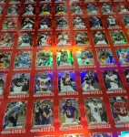 Panini America 2012 Prizm Football Red Prizm Sheet (1)