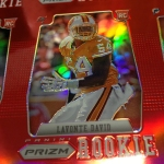 Panini America 2012 Prizm Football Red Prizm Sheet (17)