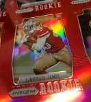Panini America 2012 Prizm Football Red Prizm Sheet (18)