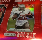 Panini America 2012 Prizm Football Red Prizm Sheet (2)