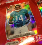 Panini America 2012 Prizm Football Red Prizm Sheet (25)