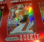 Panini America 2012 Prizm Football Red Prizm Sheet (28)