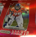 Panini America 2012 Prizm Football Red Prizm Sheet (30)