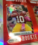 Panini America 2012 Prizm Football Red Prizm Sheet (33)