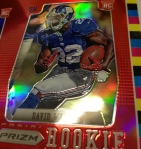 Panini America 2012 Prizm Football Red Prizm Sheet (5)