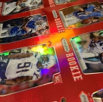 Panini America 2012 Prizm Football Red Prizm Sheet (9)