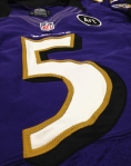 Panini America Baltimore Ravens Playoff Game-Worn (17)