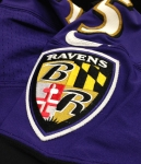 Panini America Baltimore Ravens Playoff Game-Worn (30)