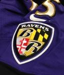 Panini America Baltimore Ravens Playoff Game-Worn (30)