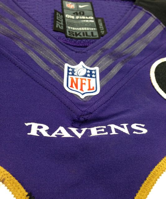 Panini America Baltimore Ravens Playoff Game-Worn (4)