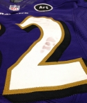 Panini America Baltimore Ravens Playoff Game-Worn (6)
