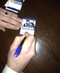 Panini America Blues Signing 1