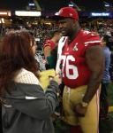 Panini America Super Bowl XLVII Media Day (3)