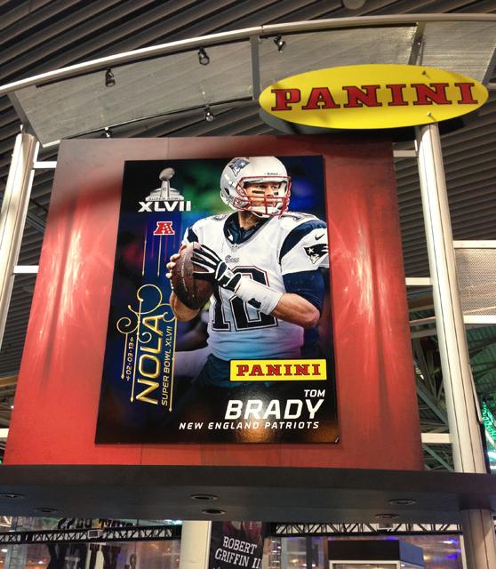 Panini America Super Bowl XLVII NFL Experience  (12)