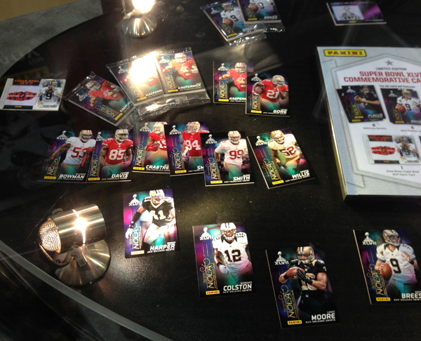 Panini America Super Bowl XLVII NFL Experience  (21)