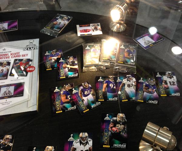 Panini America Super Bowl XLVII NFL Experience  (22)