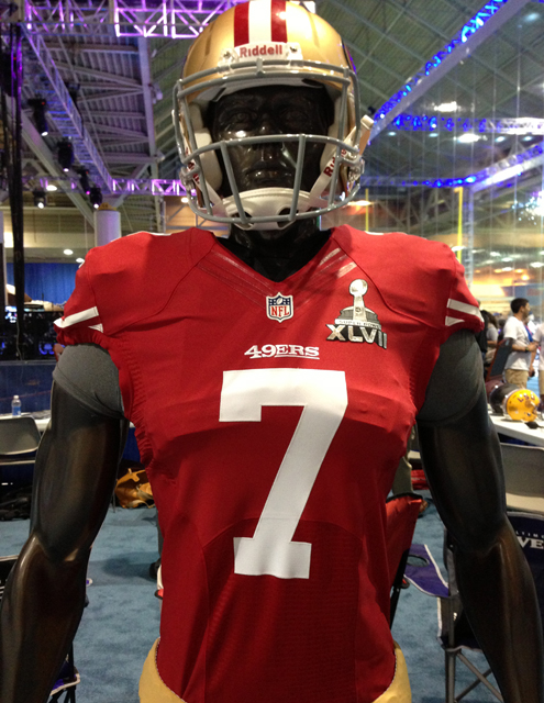 Panini America Super Bowl XLVII NFL Experience  (41)