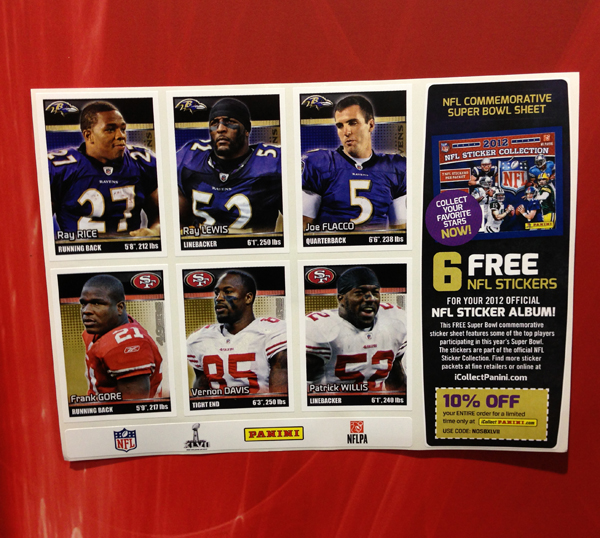 Panini America Super Bowl XLVII NFL Experience  (51)