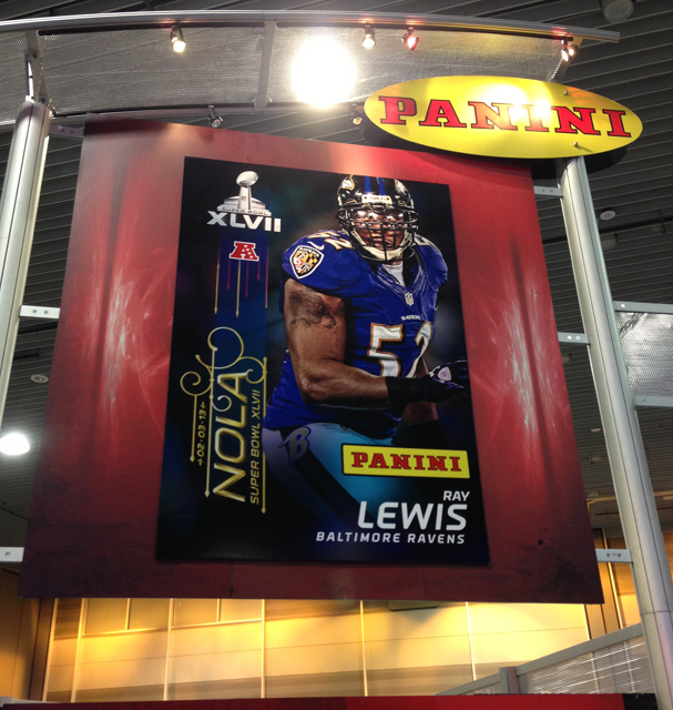 Panini America Super Bowl XLVII NFL Experience  (7)