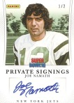 Private Signings_Joe Namath