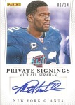 Private Signings_Michael Strahan