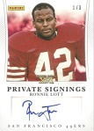 Private Signings_Ronnie Lott