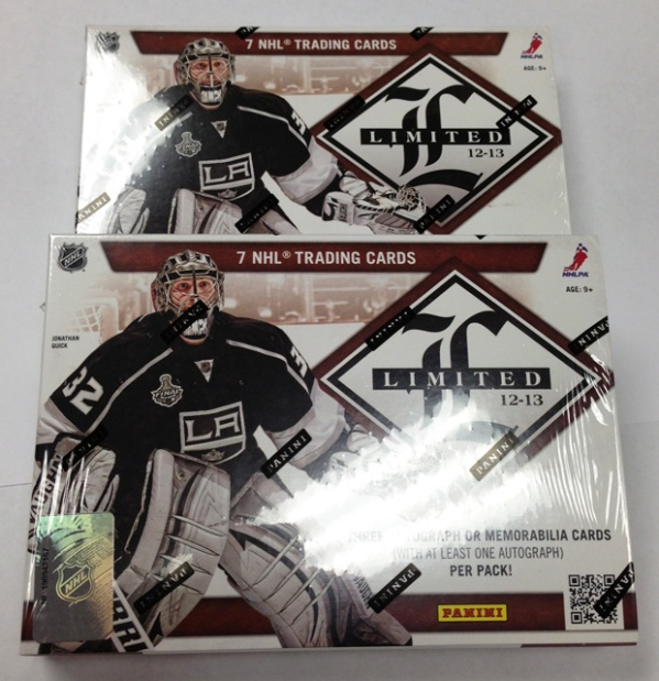 Panini America 2012-13 Limited Hockey Two-Box Teaser (1)