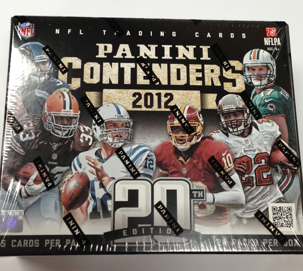 Panini America 2012 Contenders Football One Box Tease (36)