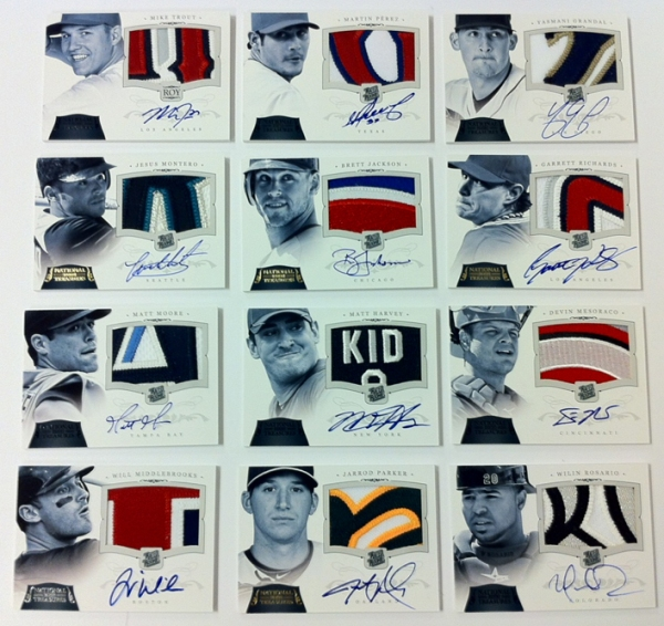 Panini America 2012 National Treasures Baseball Pre-QC (11)