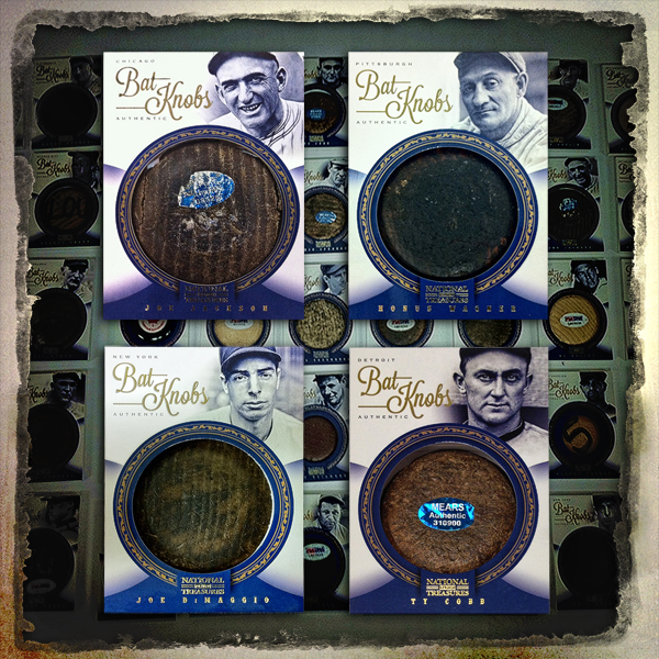 Panini America 2012 National Treasures Bat Knobs Main