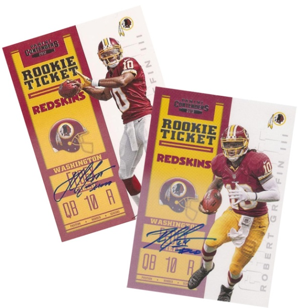 RG III Rookie Ticket Variation Main