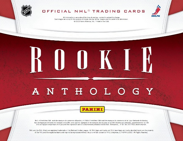 2012-13 Rookie Anthology Main