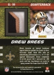 2013 Elite Football Brees 2