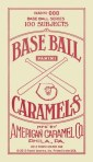 2013 Golden Age Baseball Mini Caramel Red Back