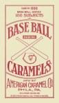 2013 Golden Age Baseball Mini Caramel Red Back