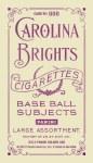 2013 Golden Age Baseball Mini Carolina Purple Back