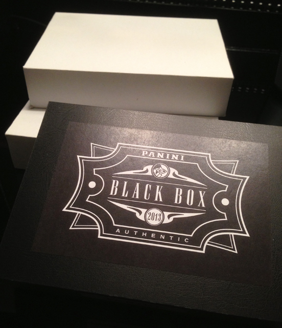 2013 Panini America Black Box Contest