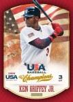 2013 USA Baseball Champions Griffey