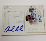 Panini America 2012 National Treasures Football Andrew Luck (13)