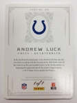 Panini America 2012 National Treasures Football Andrew Luck (17)