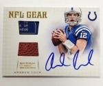 Panini America 2012 National Treasures Football Andrew Luck (33)