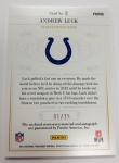 Panini America 2012 National Treasures Football Andrew Luck (8)