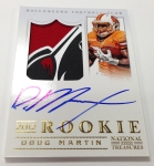 Panini America 2012 National Treasures Football Martin More (2)
