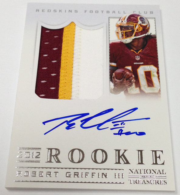 Panini America 2012 National Treasures Football RG III (1)