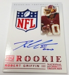 Panini America 2012 National Treasures Football RG III (3)