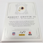Panini America 2012 National Treasures Football RG III (4)