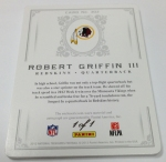 Panini America 2012 National Treasures Football RG III (6)