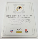 Panini America 2012 National Treasures Football RG III (8)