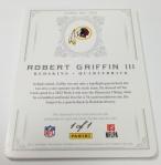 Panini America 2012 National Treasures Football RG III (8)